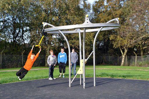 Air Glider Playground Equipment