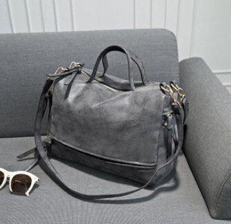 Vogue Star!2016 new arrive women shoulder bag nubuck leather vintage messenger