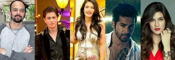 REALLY REALLY EXCITED FOR THIS SEK AND KAJOL COME BACK!! Dilwale movie cast Coming this Christmas 2015