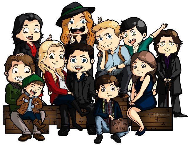 Our crazy family. Once Upon A Time