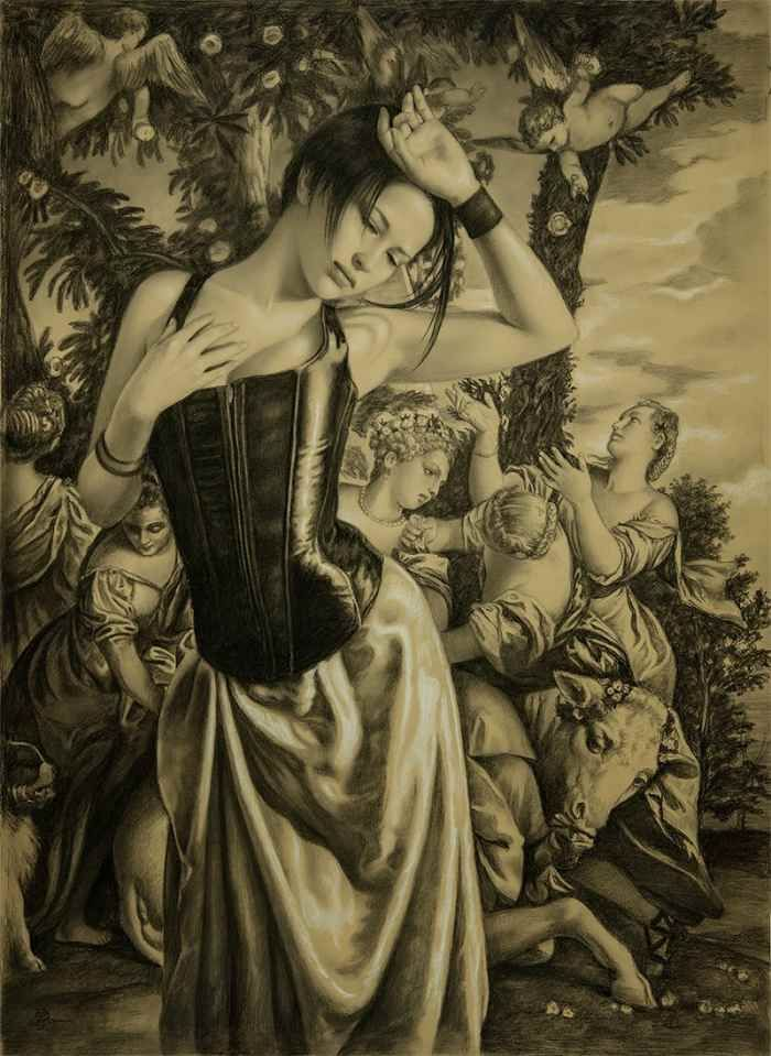 Живые, страстные картины. Edson Campos