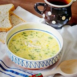 Romanian soup.  Hit translation button at top of page.