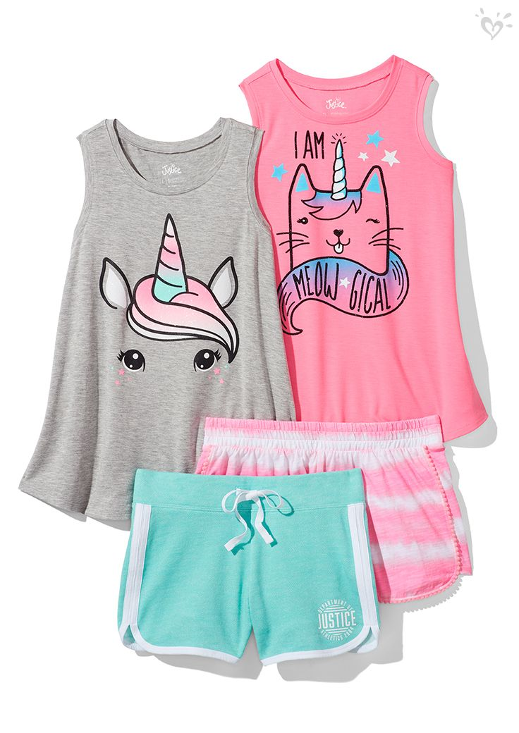 Outfit Goals Cute Comfy Magical Justice Clothing Outfits Kids Outfits Girls Kids Outfits