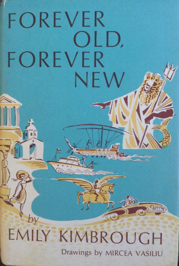 Vasiliu - Cover 'Forever Old, Forever Young' by Emily Kimbrough, Heinemann, 1965