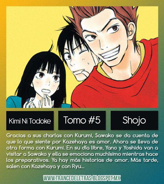 Kimi Ni Todoke de Karuho Shiina (Tomo #5)