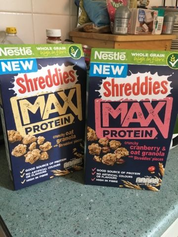FOODSTUFF FINDS: Shreddies MAX Protein (@NLi10)