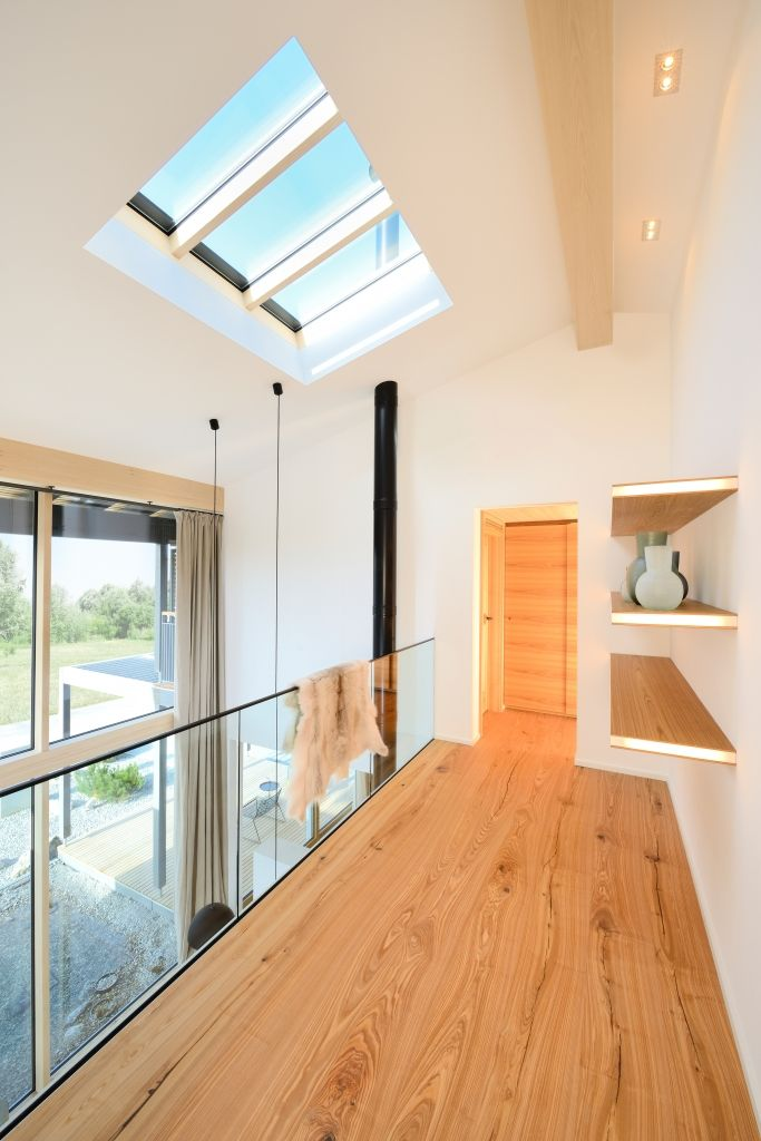 Vom Heustadl zum Wohnhaus - das Bau-Fritz Haus Alpenchic | Katalog anfordern…