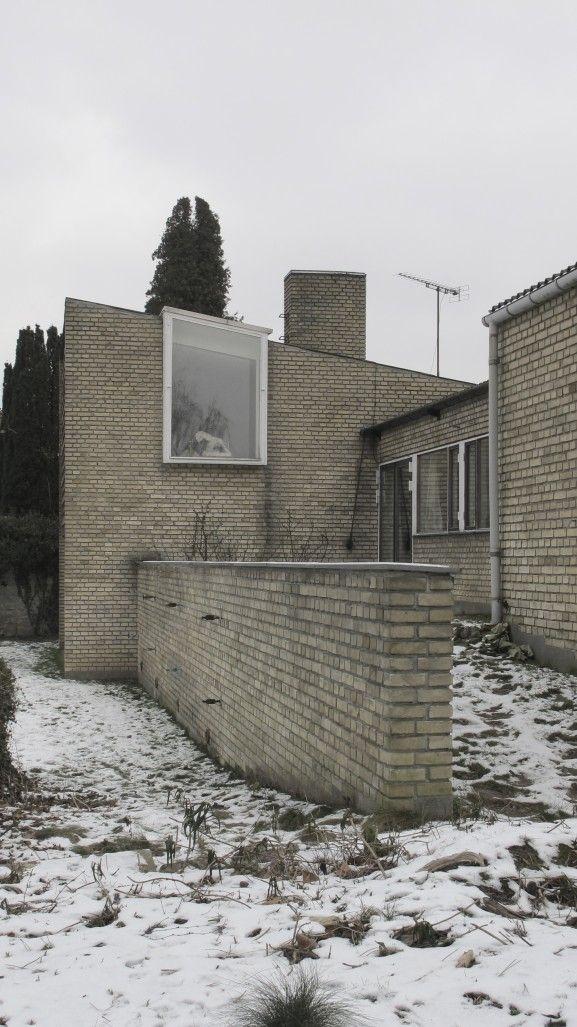 Statslånshus opført 1952-53 af ægteparret Nils og Eva Koppel