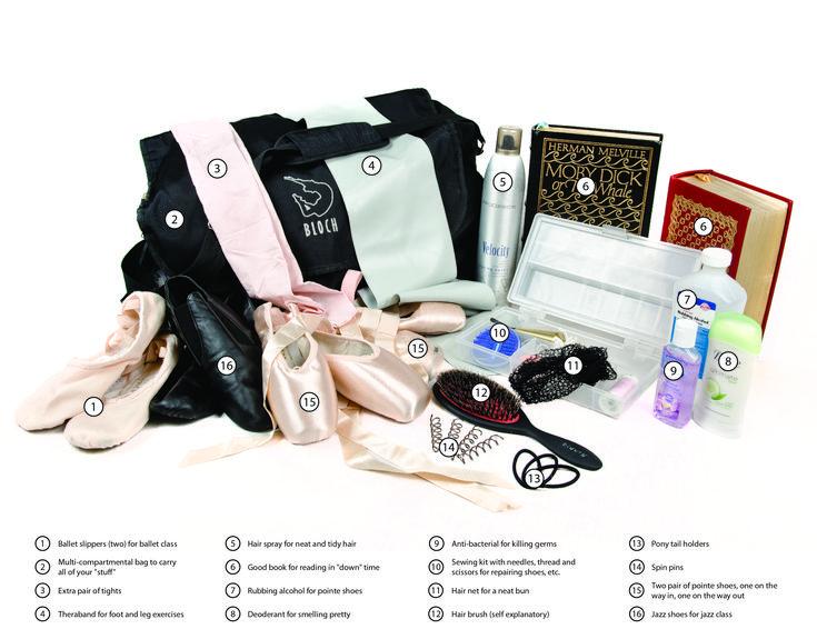 Dance bag essentials