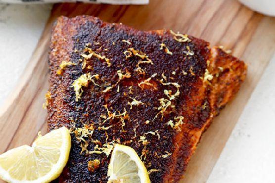 Sumac-Spiced Blackened Salmon