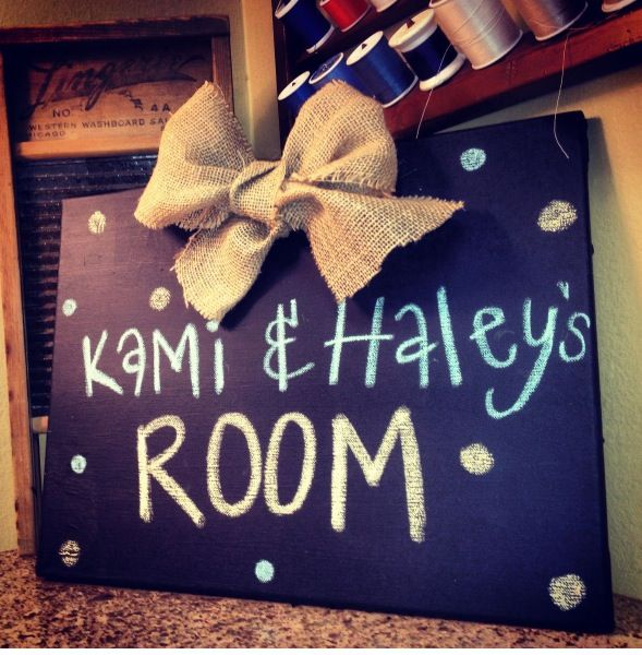 = Very cute sign for a dorm room!  Dorm sweet dorm