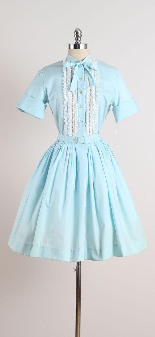 Yet to Meet . vintage 1950s dress . vintage by millstreetvintage