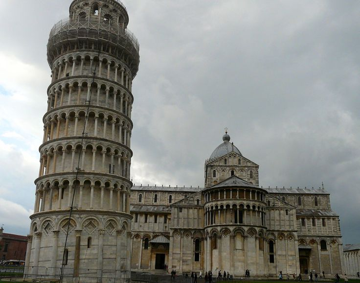 We visited Pisa on a stormy day. Of all the cities on our Road Trip to Northern Italy, Pisa was our least favorite.
