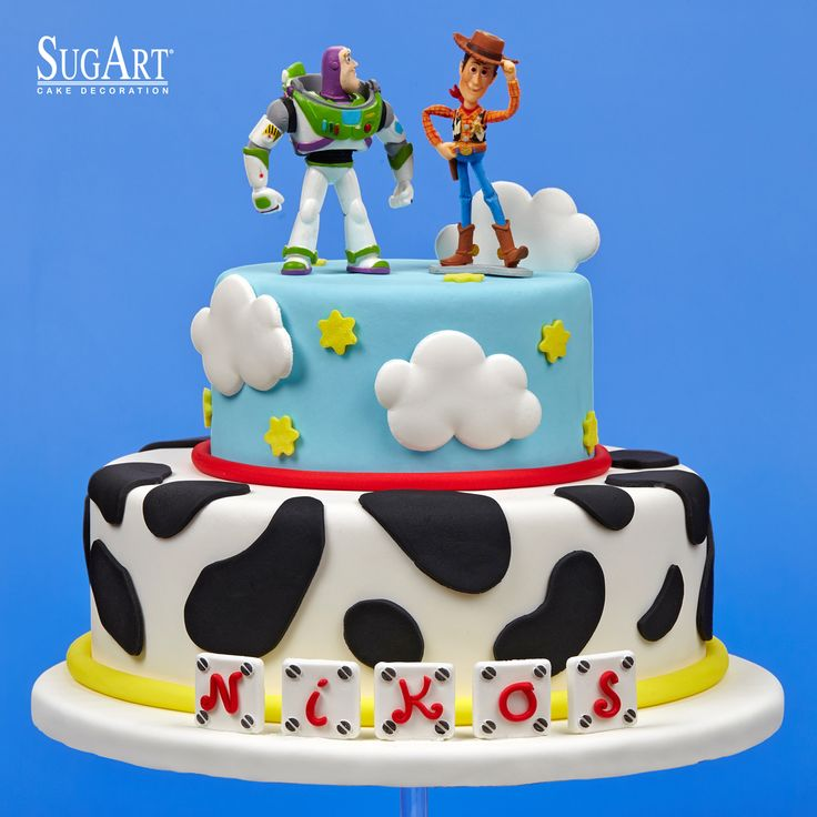 #ToyStory / #Pixar Birthday Cake: Sugarpaste colors,Sugar Articles,#Buzzlightyear,Sheriff Woody,Fondant Imagination.:  A Toy Story design with our products seems like Buzz Lightyear's sayings..  To infinity.. And Beyond  Sugarpaste and Sugar Articles from SUGART-Cake decoration provide you an awesome birthday cake!  Visit us:https://www.instagram.com/sugart_cakedecoration/