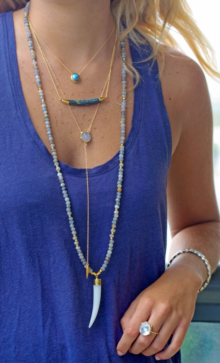 bohemian layers | kei jewelry