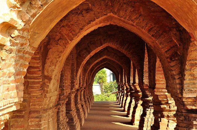 CENTRAL ATTRACTION........IN A TERRACOTTA TEMPLE BISHNUPUR by kaushik.photo, via Flickr