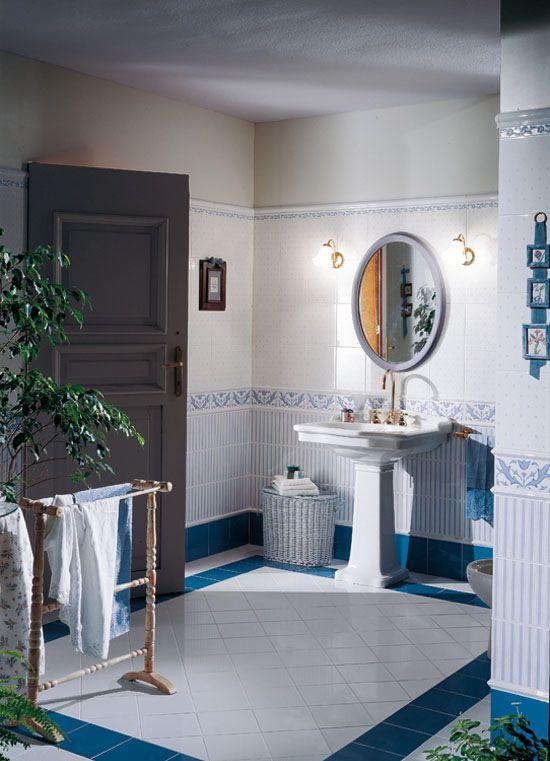 Retro koupelnové obklady a dlažba   Retro koupelny a kuchyně inspirace