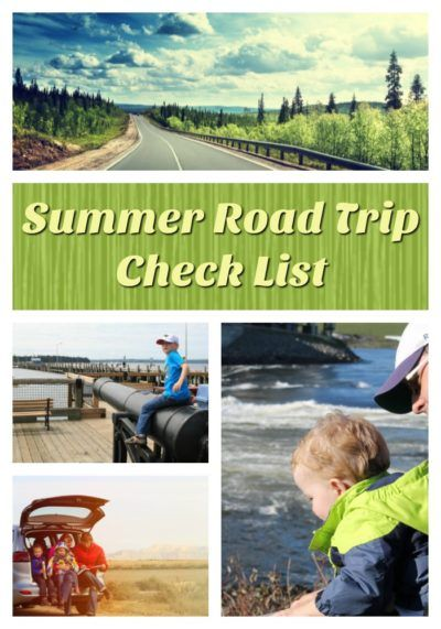 Summer Road Trip Check List + FREE Printable