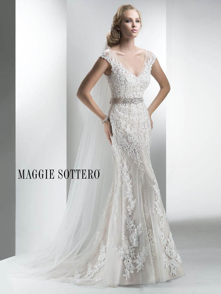 Simple Maggie Sottero Wedding Dresses