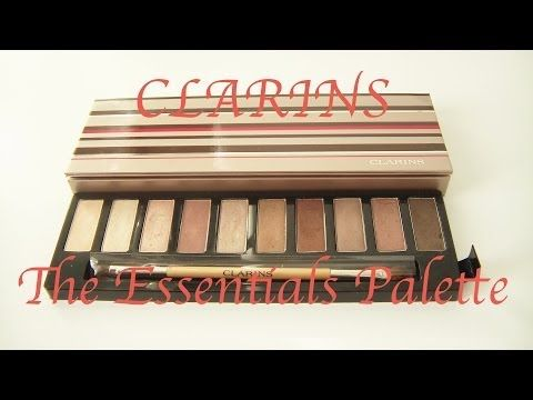 CLARINS The Essentials Eyeshadow Palette - Review & Makeup Tutorial - http://47beauty.com/clarins-the-essentials-eyeshadow-palette-review-makeup-tutorial/     PLEASE DON'T FORGET TO RATE, COMMENT AND SUBSCRIBE !!! Twitter: http://twitter.com/#!/babycake390 Facebook: https://www.facebook.com/babycake.cornelia Instagram: babycake390 This video is all about the NEW CLARINS The Essentials Eyeshadow Palette including a Review, a Comparison to the Urban Decay Nak