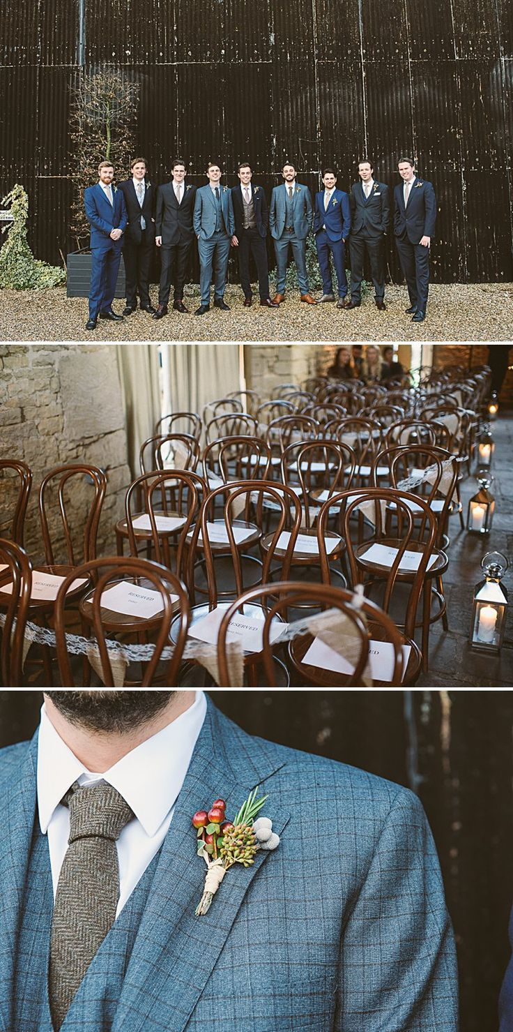 A Rustic Winter Wedding At Cripps Barn