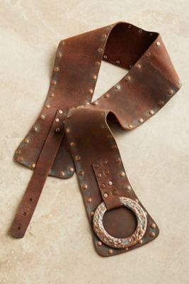 Talia Leather Belt from Soft Surroundings