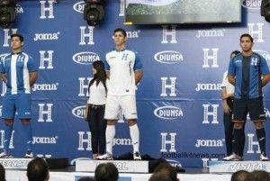 Honduras Football Shirt 2016