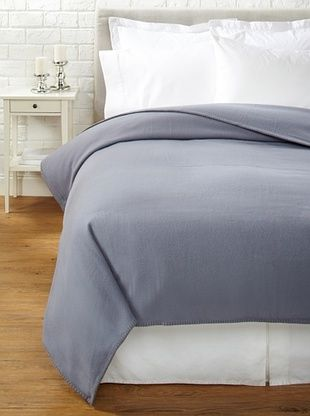 60% OFF JOHN ATKINSON by Hainsworth Siesta Blanket (Smokey Grey)