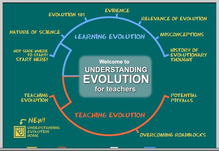 Understanding Evolution For Teachers (also UC Berkeley)