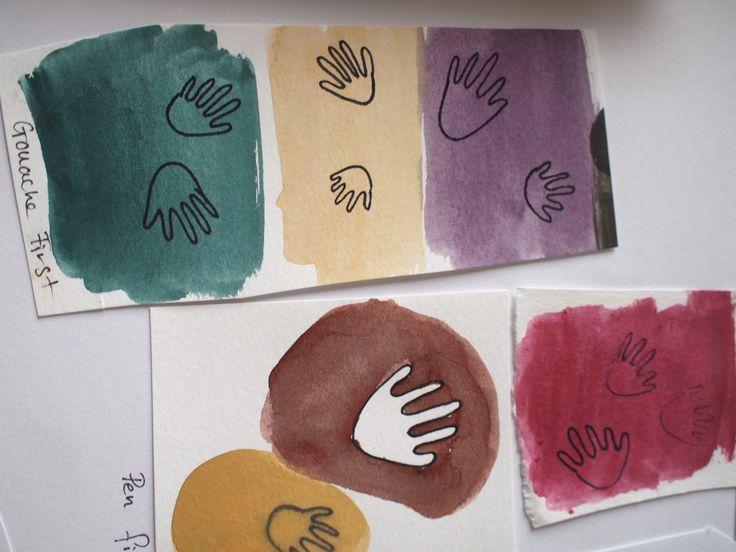 study for Chimu Clap Clap print