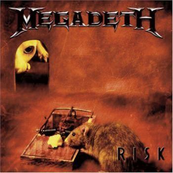 """L'album dei #Megadeth intitolato """"Risk""""."""