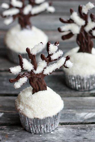 Let it Snow Cupcakes by Not Your Momma's Cookie