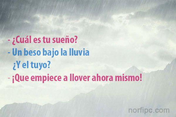 Amor Es Frases: Un Beso Bajo La Lluvia, ¿y El Tuyo