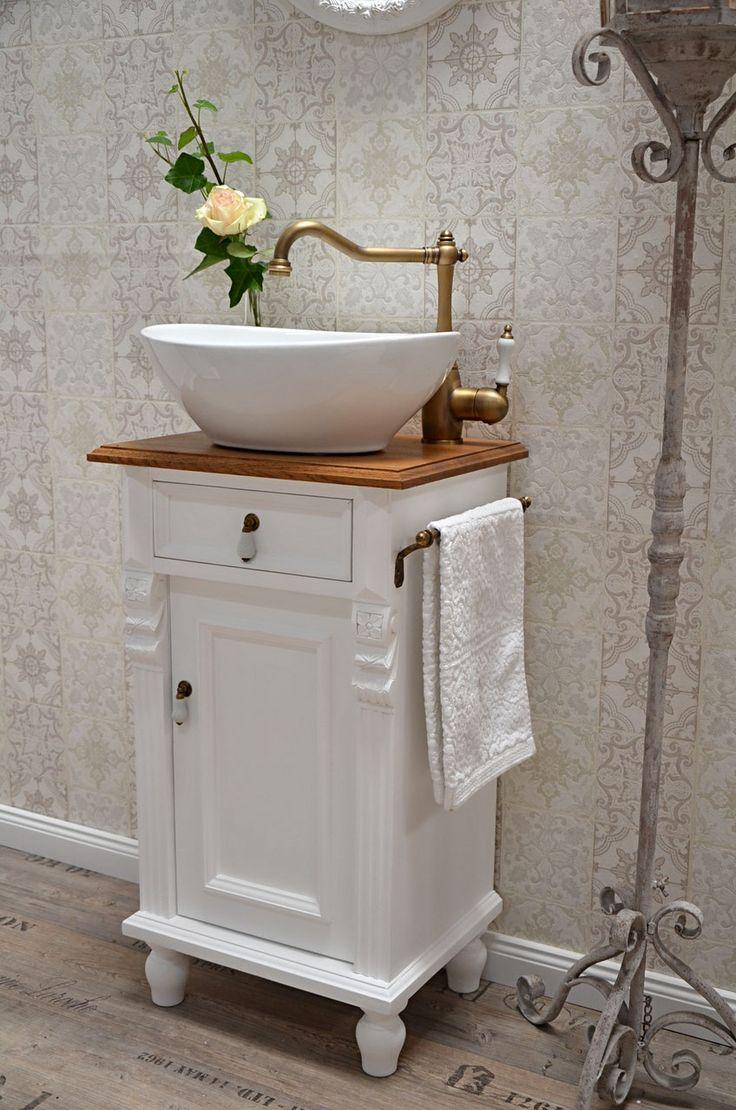 Gästewaschtische Und Kleine Waschtische Für Ein Wohnliches Badezimmer    Landhaus, Nostalgie, Vintage, Retro