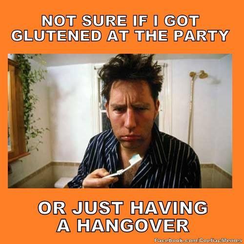 Gluten Free Hangover Food