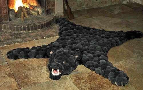 Pom-Pom Bear Carpet