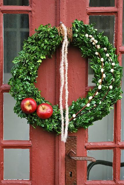 Julkrans - Christmas wreath