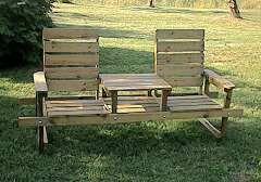 Trädgårdsmöbler fritidsmöbler utemöbler bord soffa stol solvagn bänkbord sandlåda barnmöbler