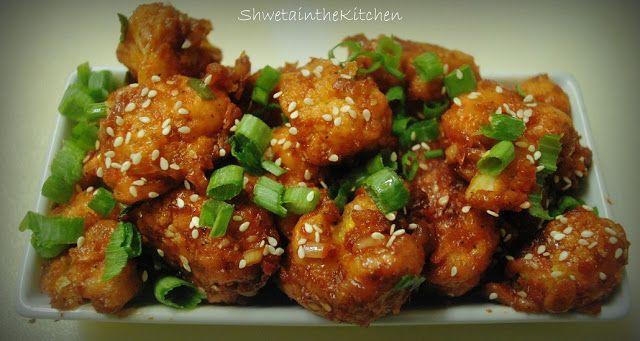 Cauliflower Manchurian #Tastebudladies #Cauliflower