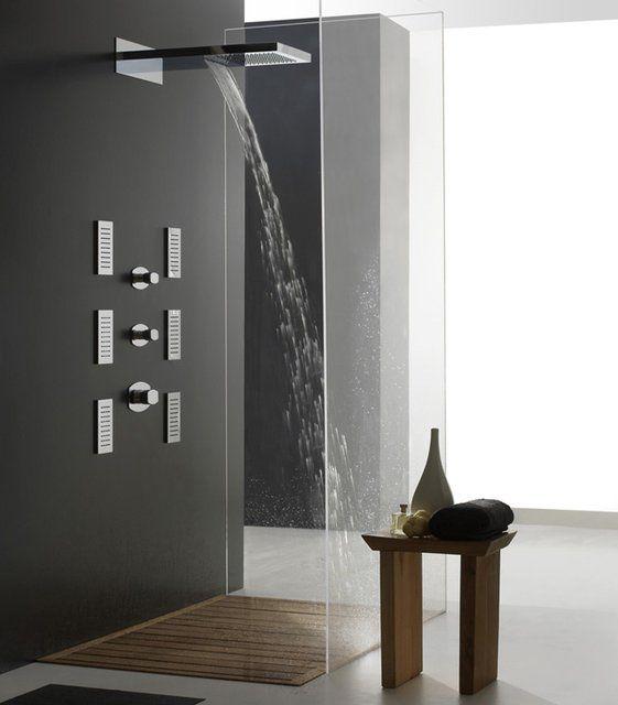 Abfluss Dusche Modern : Modern Shower Stalls