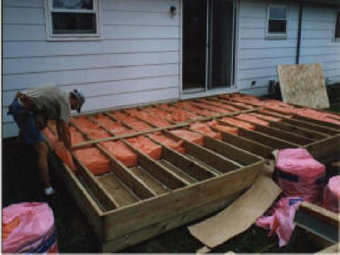 17 best images about floor insulation on pinterest for Garden room flooring