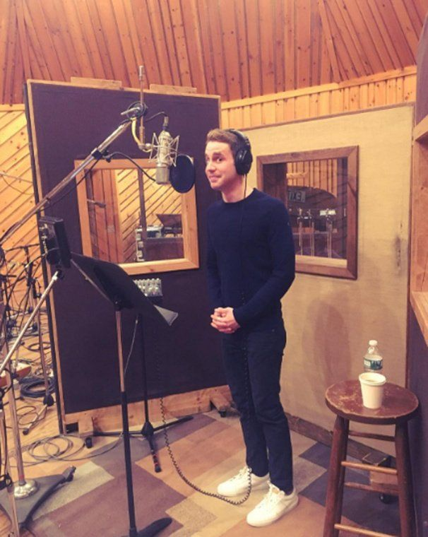 I've always wanted to work in a recording studio. I did get to once, but I want to do it more...