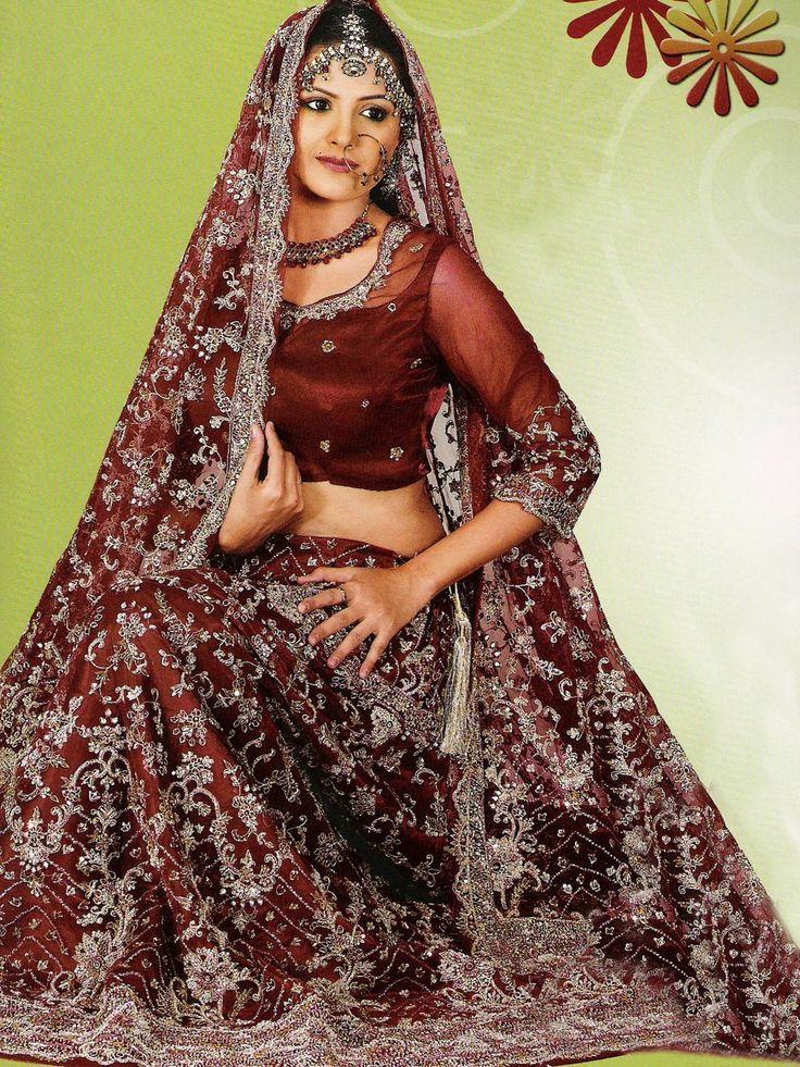 Wedding Dresses with Color | Mehndi Designs 2012: Wedding Dresses