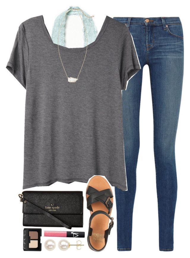 """ootd - school enrollment & schedule pick-up"" by okieprep ❤ liked on Polyvor"