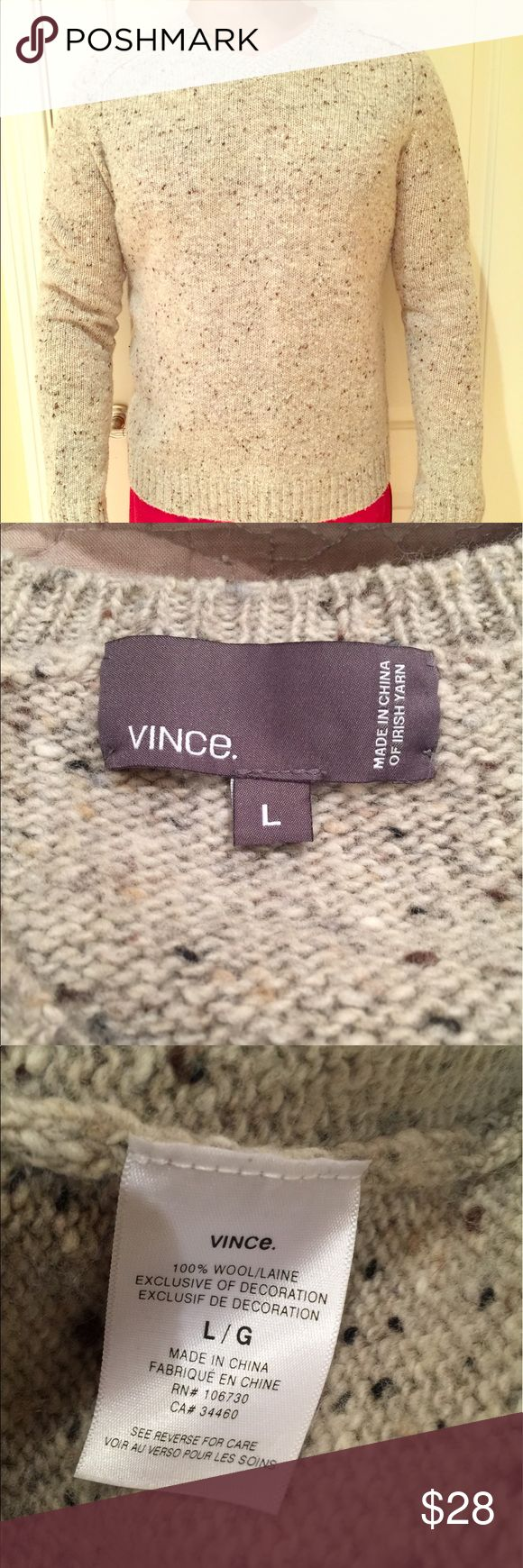 Vince men wool sweater large No flaws no trades Vince Sweaters V-Neck