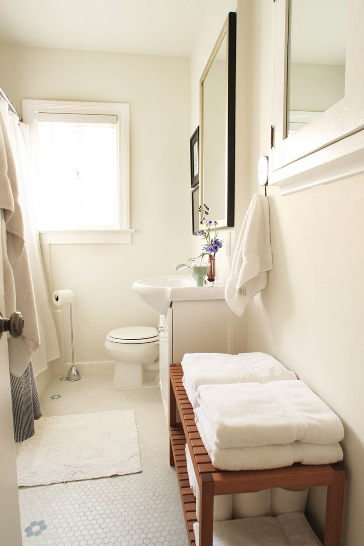 130 best i love ikea images on pinterest home live and at home an ikea molger bench in the bathroom apartment therapy