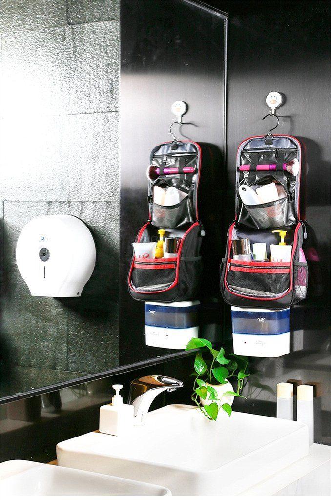Hanging Travel Toiletry Makeup Organizer Cosmetic Bag