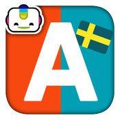 Bogga Alfabet - Att lära sig bokstävernas ljud och form. Bokstäverna barnet väljer blir till kylskåpsmagneter som man kan skapa ord av.