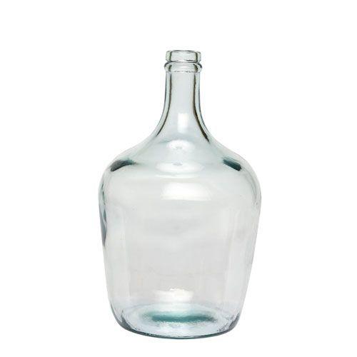 Bonbonne en verre recylcé (2 couleurs) Hübsch
