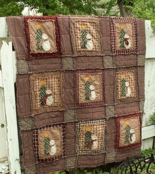 47 best Rag Quilts images on Pinterest | Bedrooms, Christmas ... : christmas rag quilt patterns - Adamdwight.com